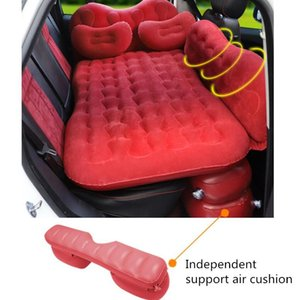Car Travel Bed SUV Inflatable Mattres Back Seat Outdoor Camping Mattress With Pillow Sofa Luchtbed Accessories Other Interior
