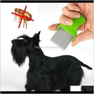 أخرى المنزل المنزلية ل Nits جيب الحيوانات الأليفة تخلص من البرغوث القمل دبوس مشط الكلب القط ششر الشعر اللوازم الاستمالة أداة قطرة التسليم 2021 YVM