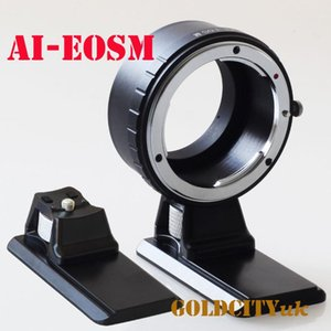 Lens Adapters & Mounts AI-EOSM Adapter With Tripod For AI To EOSM EF-M EOSM M2 M3 m5 m6 m10 m50 Mirrorless Camera
