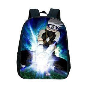حقيبة الظهر Mochila Naruto Kids Akatsuki الحقائب المدرسية للفتيات لطيف حقيبة الظهر الصغيرة 12 بوصة الطفل روضة رياض الأطفال حقيبة حزمة