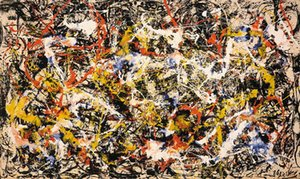 Jackson Pollock Convergence Giclee Print Poster Large Oil Painting On Canvas Home Decor Wall Art Pictures 210323