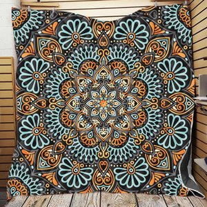 Comforters & Sets Bohemian Geometric Elements 3D Custom Printed Blankets Winter Quilts Throw Travel Breathable Soft Comfortable Bedspread