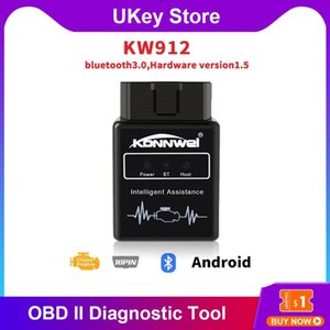 Super Mini Bluetooth ELM327 OBD II أداة تشخيص سيارة قارئ ماسح الضوئي يدعم قارئ جميع بروتوكولات OBD-II أدوات مسح القراء