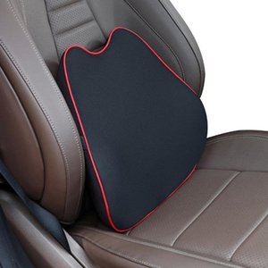 Seat Cushions Car Headrest Pillow Neck Memory Lumbar Support Cotton Breathable Auto Rest Cushion