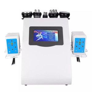 Güzellik Zayıflama Ürünü 6 1 40 K Vakum Lazer Radyo Frekansı RF Cavi Lipo Ultrasonik Liposuction Kavitasyon Makinesi