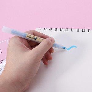 Highlighters 10Pcs Fluorescent Pen Mild Liner Color Marker School Supplies