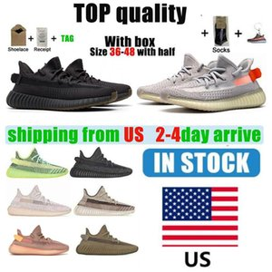 Au.s. Kanye West 3M الاحذية العاكسة أحذية رجالية والنساء سيندر حمار وحشي الذيل ضوء إسلام أباد ثابت أحذية رياضية الحجم 36-46