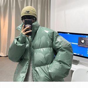QIQichen Mens Streetwear Winter Winter Glossy Bubble Vestes 2020 Mens Harajuku Chaud Hip Hop Parka Mâle Coréen Manteau Puffer Coat