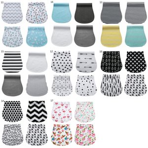 17 Styles Baby Burp Cloths Baby Bibs Feeding Nursing Towel Accessory Burping Rags for Newborns Organic Cotton Absorbent and Soft 846 V2