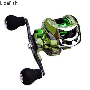 Marca de Lidafish 7.2: 1 índice de baquetas de cebo de alta velocidad arrastrado Max Power 10kg de agua salada.