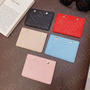 Women Card holder Lady Clutch Wallet Black Small leather bag caviar coin purse Embossing Metal rivet Very nice gift
