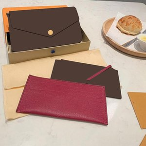 2021 fashion one-shoulder messenger bag three-piece brown letter flower leather chain big design can be waterproof and exquisite workmanship