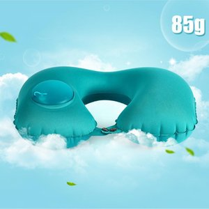 Seat Cushions Gift Soft Office Car Headrest Travel Pillow Sleeping U Shaped Home Neck Inflatable Airplane Practical Nap Automatic