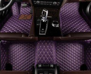 Custom 5 Seat car floor mats for toyota Land Cruiser Prado Sienna Venza VIOS 2000 auto accessories