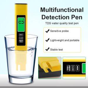 Meters 3-in-1 Digital PH EC TDS Meter Tester Temperature Pen Water Purity PPM Filter Hydroponic For Aquarium Pool Quality Monitor