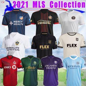 2021 MLS 토론토 마이애미 축구 유니폼 애틀랜타 DC United 21/22 Lafc Galaxy Los Portland 올랜도 시신 시내 저지