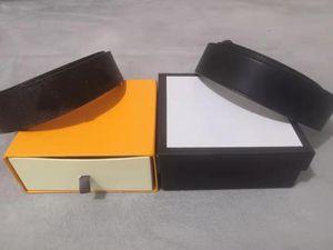 Cinturones para hombre Moda con estilo animal hombres mujer correa letras estampadas de moda serpientes aguja hebilla cinturón ancho 3.8cm caja de cuero de alta calidad