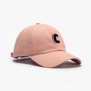 LDSLYJR 2021 Cotton letter C embroidery Casquette Baseball Cap Adjustable Snapback Hats for men and women 30