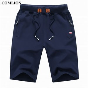 Comlion Nuovo Arrivo Uomo Pantaloncini Estate Marca Casual Shorts Casual Mens Cotton Homme Elegante Casual Beach Shorts Brevi pantaloni maschili Piano Plus 1A 210323