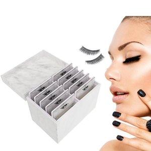 Grafting Eyelashes Storage Box Acrylic Pallet Lash Holder Individual Display Stand Makeup Cosmetics Eyelash Extension Boxes & Bins