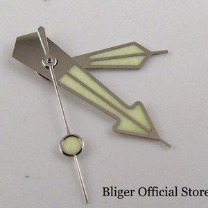 Repair Tools & Kits Silver Rose Gold Watch Hand Needles Green Luminous Fit NH35A NH36A 7S26 4R35 4R36 Movement
