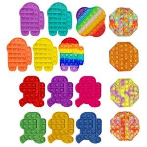 Enfants drôle pop conserve stress fidget jouets bubble jouet sensoriel pour l'autisme ayant besoin spécial adhd autisme stress stress sexuels
