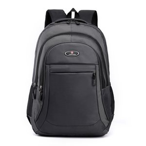 2021 Fashion Men s Casual Classical Shoulder Bags Large School Bag Teenager Boys Student Laptop Backpack