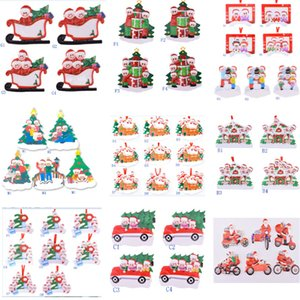 2021 Christmas Ornaments Decorations Creative Toys Gift Xmas Tree Decor For Mask Snowman Hand Hanging Pendant Fors Family DIY Name HH21-703
