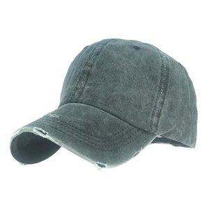 Best Shade Women caps New Design Solid Color Ponytail Baseball Cap Cotton Sport Caps Adjustable Snapback Hip Hop Hat
