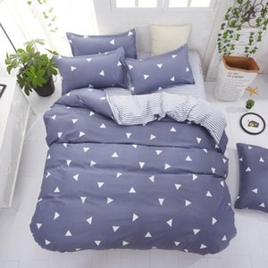 Bedding Sets Solstice Home Textile Cyan Cute Cat Kitty Duvet Cover Pillow Case Bed Sheet Boy Kid Teen Girl Covers Set King Queen Twin