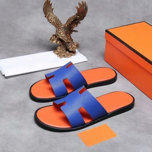 2021 latest high-quality leather men's slippers, the most comfortable and fashionable summer wear trend size 38-45