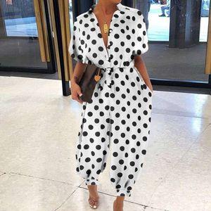 Women Leopard Print Jumpsuit Retro Summer Short Sleeve Lace-up Suit Overalls Casual Button V-neck Pocket Romper Bodysuit 5xl