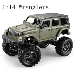 2.4G 114 Remote Control Four-Wheel Drive High-Speed Car Rc Climbing Car ChildrenS Toy SUV Truck Wranglers car