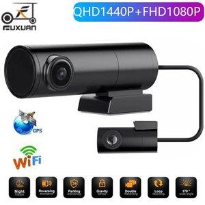 سيارة DVR كاميرا 2K1440P فيديو مسجل wifi سرعة n gps dashcam داش كام مسجل سبوير للرؤية الليلية dvrs