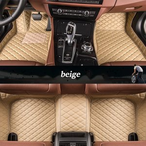custom leather car floor mats for Lincoln all models Navigator MKZ MKS MKC MKX MKT car mats accessories auto styling