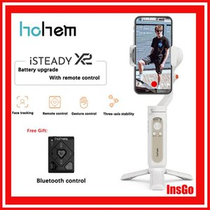 Selfie Monopods Hohem ISteady X2 Smartphone Gimbal 3-Axis Handheld Stabilizer For Action Camera Video Record Vlog Live