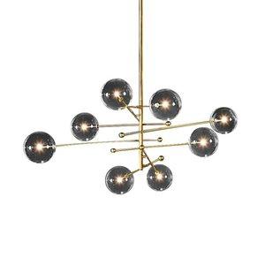 Pendant Lamps Postmodern Designer Luminaria Hanging Lights LED Luces Colgantes Lamp Glass Ball Lighting For Living Room
