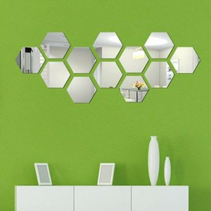 Wall Stickers Acrylic Art Decals Home Decor Sticker 24Pcs Self-Adhesive