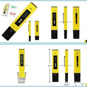 Meters Analyzers Measurement Analysis Instruments Office School Business & Industrialdigital Lcd Ph Meter Pen Of Tester Auracy 0Dot1 Aquariu