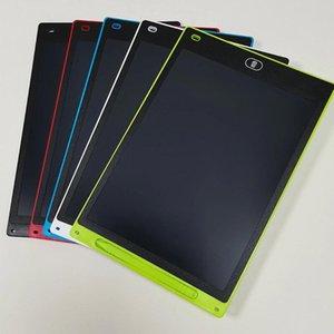 8.5 인치 LCD 작성 태블릿 디지털 드로잉 보드 칠판 파티 호의 아이들을위한 전자 필기 패드 선물 성인 종이없는 메모장 정제 메모