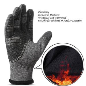 Motorcycle Windproof Mittens Mens Winter Tactical Gloves Thermal Touched Screen Outdoor Sports Cycling Warm Glove