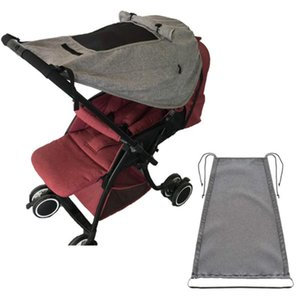 Stroller Parts & Accessories Baby Soft Breathable Yarn Sunshade Cover Sun Protector Basket Mosquito Net For