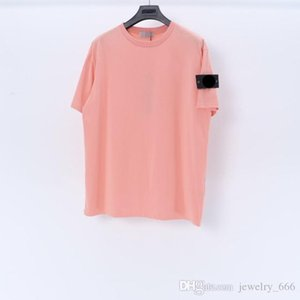 2021Summer STONE Men Trendy ISLAND Collection Compass Logo Patch T Shirt Cotton Women Solid tees Style Streetwear Casual 042311