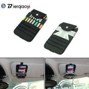 Car Organizer For MINI COOPER F54 Clubman Countryman F60 R60 Universal Sunshade Card Holder R50 R53 R55 R56 F55 F56 Storage Bag R61