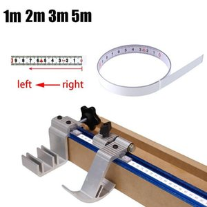 Measure Self-adhesive Tape Metric Miter Track Measuring Steel Ruler For T-track Router Saw Table Woodworking Tools #W3