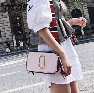 Pu Leather Messenger Shoulder Bags Fashion Women Hand-bags Simple Design Crossbody Zipper Girl with two tapes