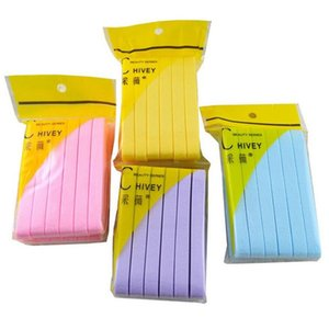 12pcs pack Soft Compressed Face Cleaning Sponge Pad Exfoliator Cosmetic Puff 6 colors for option good quality