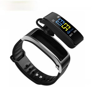 Slimy Bluetooth Y3 Color Headset Talk Smart Band Bracelet Heart Rate Monitor Sports Smart Watch Passometer Fitness Tracker Wrist