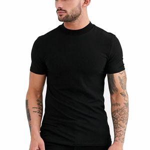 Tactical Wholesale 2021 Gym t Shirt Fitness T-shirts Mens o Neck Man T-shirt Vest for Men Tshirts Sport Musculation