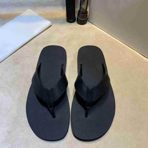 2021 Nuevo servicio Descripción Slides Moda Moda Sandalias Sandalias Playa Zapatillas Flip Flops Mocasines Negro Blanco Blanco Diapositivas Chaussures Zapatos